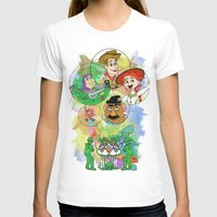pixar T-shirts featuring Disney Pixar Play Parade - Toy Story Unit by Joey Noble