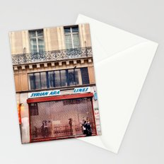 Paris Streets 1 Stationery Cards