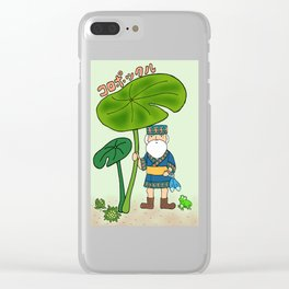 Koropokkuru Clear iPhone Case