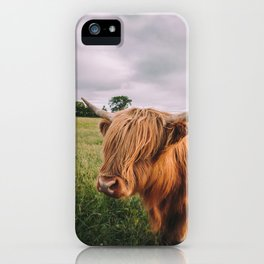 Epic Highland Cow iPhone Case