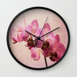 Orchids  Wall Clock