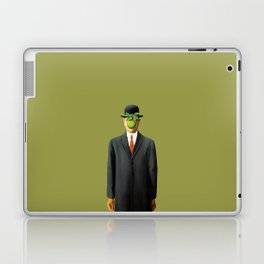 In the style of Magritte Laptop & iPad Skin