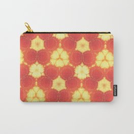 Tile orange and yellow Carry-All Pouch