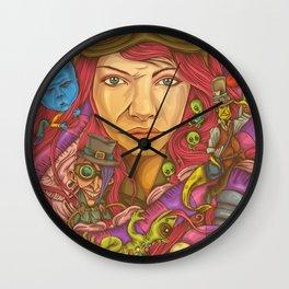 Internal Escapade Wall Clock
