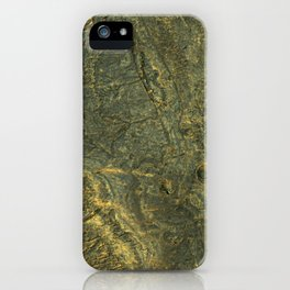 golden scales of the dragon ares   space 014 iPhone Case