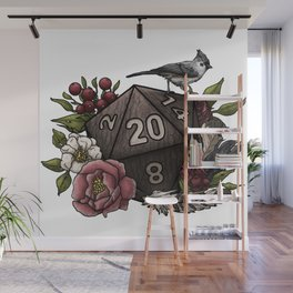 Druid Class D20 - Tabletop Gaming Dice Wall Mural
