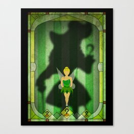 Shadow Collection, Series 1 - Hook Canvas Print