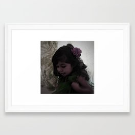Dancing Princess Framed Art Print
