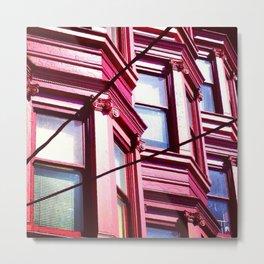 Day Nineteen: Bay Windows Metal Print