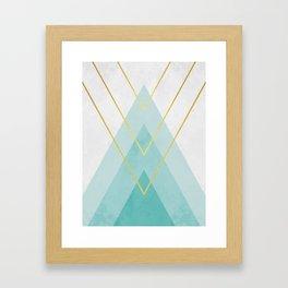 Modern abstraction I Framed Art Print