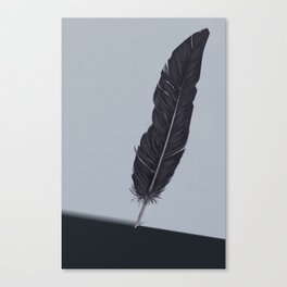Feathered Edge. Canvas Print