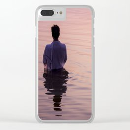Meditation Time Clear iPhone Case