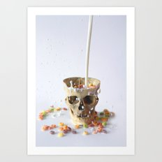 Cereal Killer Art Print