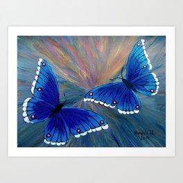 Butterflies-2  Art Print