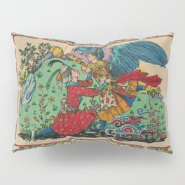 Abu Nuwas and the Cupbearer Pillow Sham