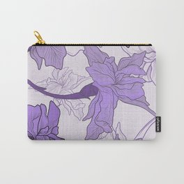 Iris Flower 2 Carry-All Pouch