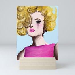 The Blonde Mini Art Print
