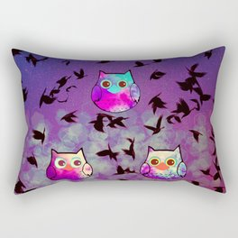 owl-444 Rectangular Pillow