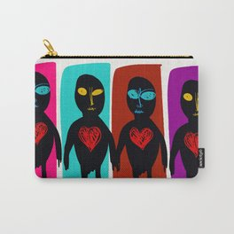 All Different but all Equal Street Art Graffiti Pop Carry-All Pouch