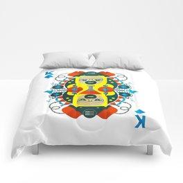 Heisenberg fan art Comforters