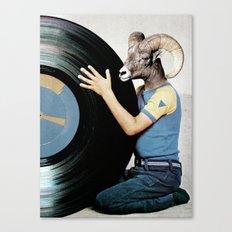 Vinyl life Canvas Print