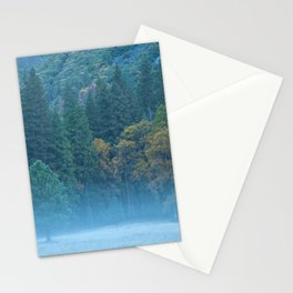 Fog at The Meadow Stationery Cards