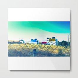Casas de colores Metal Print