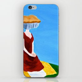Shut your pie face iPhone Skin