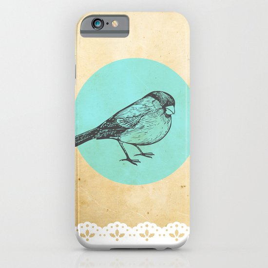 Spotted bird iPhone & iPod Case