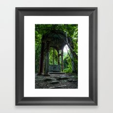 Catholic Ruins Framed Art Print