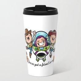 three story cute Travel Mug