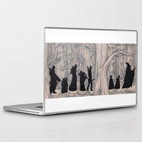 lotr Laptop & iPad Skins featuring On the way (The Fellowship of the Ring, LOTR) by Blanca MonQnill Sole