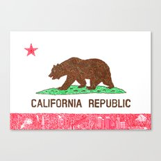 MADE IN CALIFORNIA Canvas Print