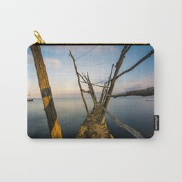 Rustic Pier at the Adriatic Sea Carry-All Pouch