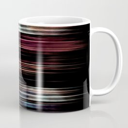 Light Stripes Metallic Texture Coffee Mug