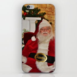Man In Red Suit iPhone Skin