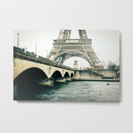 Eiffel Tower View Metal Print