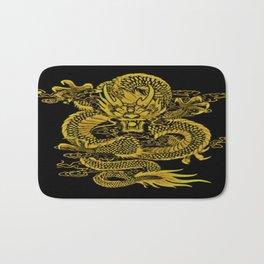 Epic Dragon Yellow Bath Mat