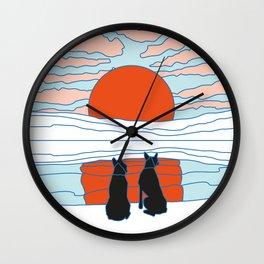 Mejor amigo Wall Clock