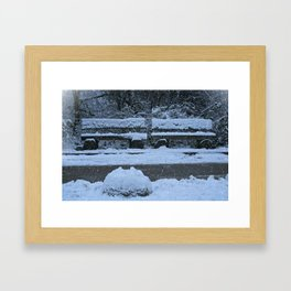 Winter Time Framed Art Print