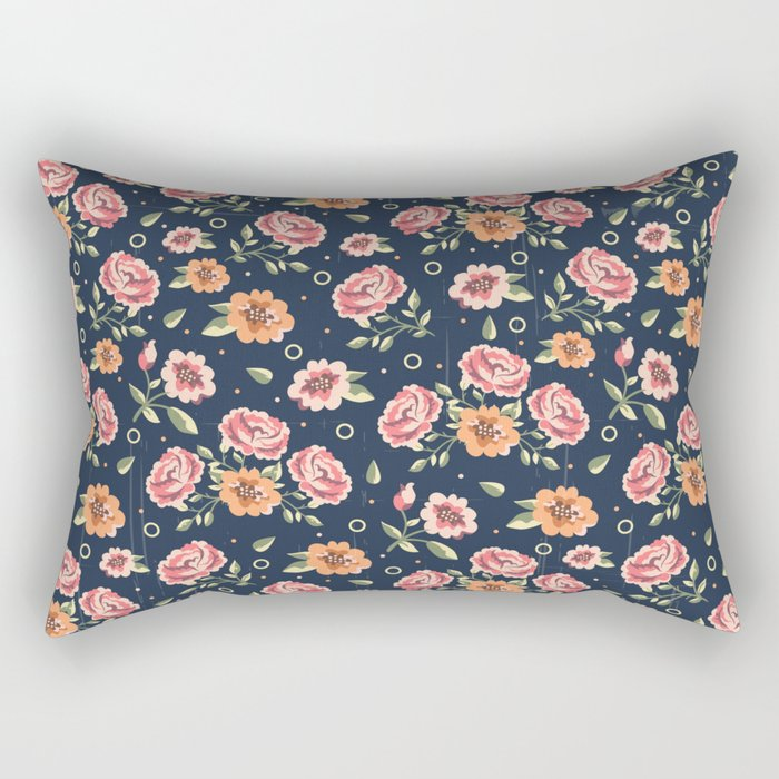 Roses Rectangular Pillow
