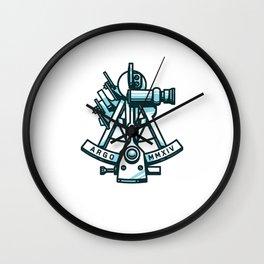 Argonaut Sextant Wall Clock