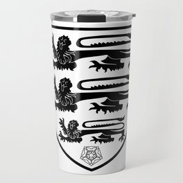 British Three Lions Crest Travel Mug