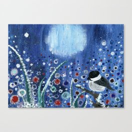 Field of Frost Canvas Print