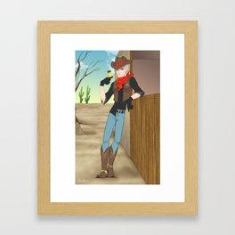 APH: Cowboy Prussia Framed Art Print