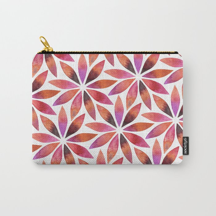Star Petals Carry-All Pouch