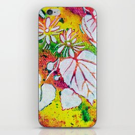 Leaves on the World Tree: Czechs Lípa ( Linden or Lime ) iPhone Skin