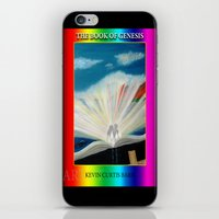 bible iPhone & iPod Skins featuring THE BIBLE by KEVIN CURTIS BARR'S ART OF FAMOUS FACES