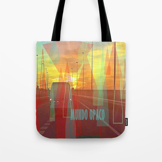 Opaque world Tote Bag