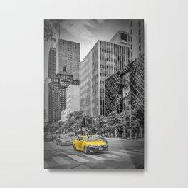 CHICAGO North Michigan Avenue Metal Print